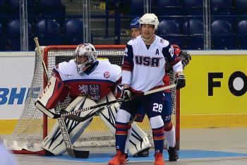 Čeští hokejbalisté na úvod světového šampionátu vynulovali Spojené státy americké!